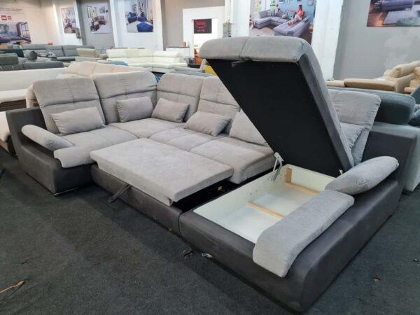 Star II ágyazható, ágyneműtartós ülőgarnitúra - COTTA Multi kanapé