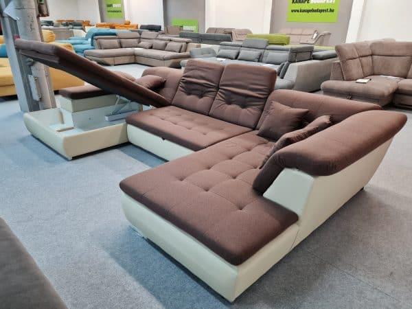 Style U alakú kanapé - ágyazható, ágyneműtartós ülőgarnitúra