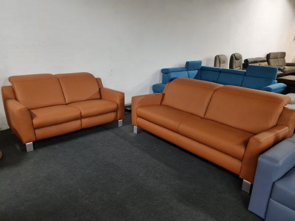 Carmen 3-2 bőr relax kanapé