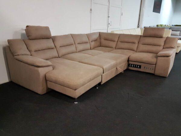 COTTA Hera ágyazható ülőgarnitúra relax funkcióval