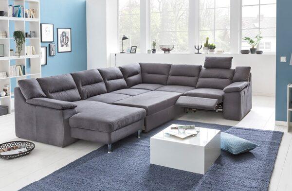 COTTA Hera relax ülőgarnitúra - Ágyazható U alakú kanapé