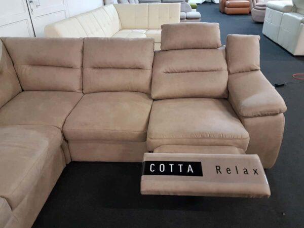 COTTA Hera ülőgarnitúra motoros relax funkció