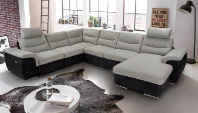 Hella ülőgarnitúra - COTTA Helios U alakú kanapé