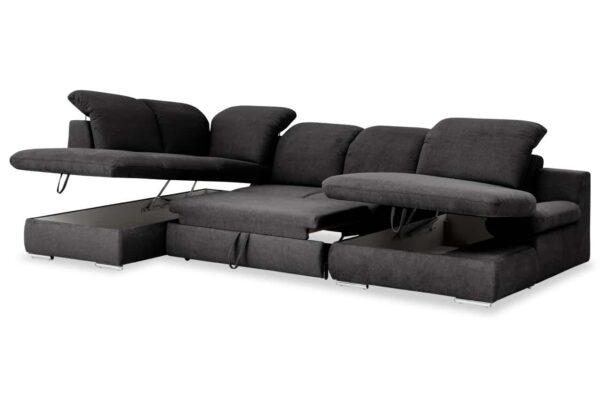 Isona ágyazható, ágyneműtartós ülőgarnitúra COTTA