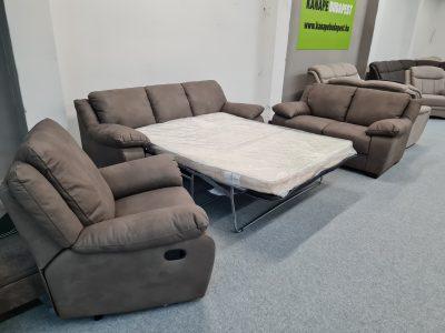 Softaly U092 kanapé 3-2-1 ágyazható ülőgarnitúra