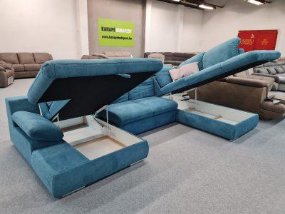 COTTA Isona ágyneműtartós, ágyazható ülőgarnitúra