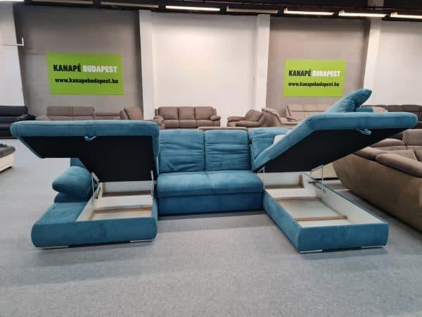 COTTA Isona ágyazható ülőgarnitúra, dupla ágyneműtartó