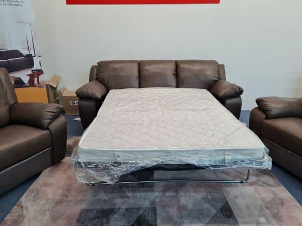 Softaly U092 bőr ülőgarnitúra - kanapéágy